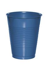 Touch of Color 16oz COBALT BLUE PLASTIC CUPS