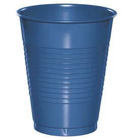 Touch of Color 16oz COBALT BLUE PLASTIC CUPS