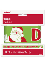 unique 'Do Not Open Till Christmas' Party Tape