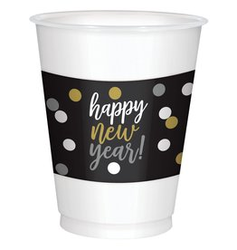Amscan 16oz Happy New Year Cups 25ct.