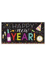 "Amscan Happy New Year Banner (33.5"" X 65"")"