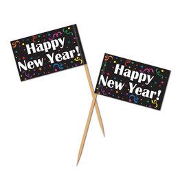 Beistle Happy New Year Picks -50ct.