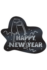 Beistle Happy New Years Glitter Cutout