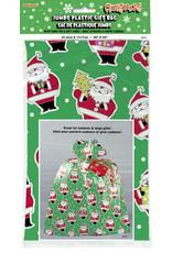 unique Jumbo Santa Plastic Gift Bag