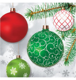 creative converting Upscale Ornaments Lunch Napkins - 16ct.
