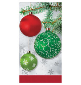 creative converting Upscale Ornaments Guest Towel - 16ct.