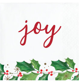 creative converting Seasons Greetings Cocktail Napkins - 16ct.