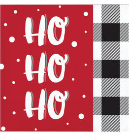 creative converting Santa Fun Cocktail Napkins - 16ct.