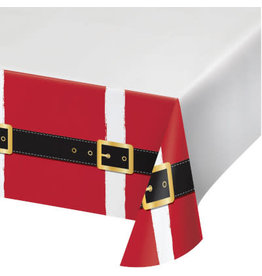 creative converting Santa Fun Table Cover