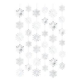 Amscan SNOWFLAKE STRING DECORATION