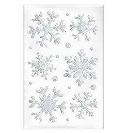 Amscan Snowflake Gel Cling for Windows