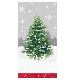 creative converting Winter Tree Guest Towel - 16ct.