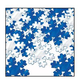 Beistle Blue & Silver Snowflake Confetti 1oz