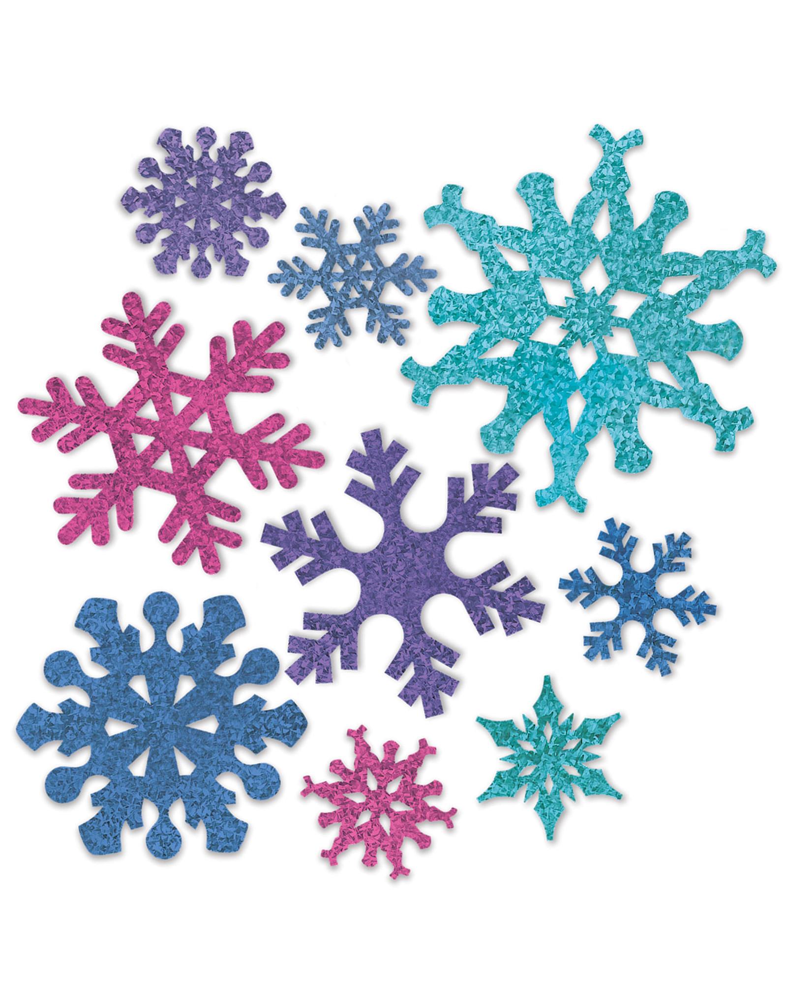 Beistle 9ct. Asst. Snowflake Cutouts