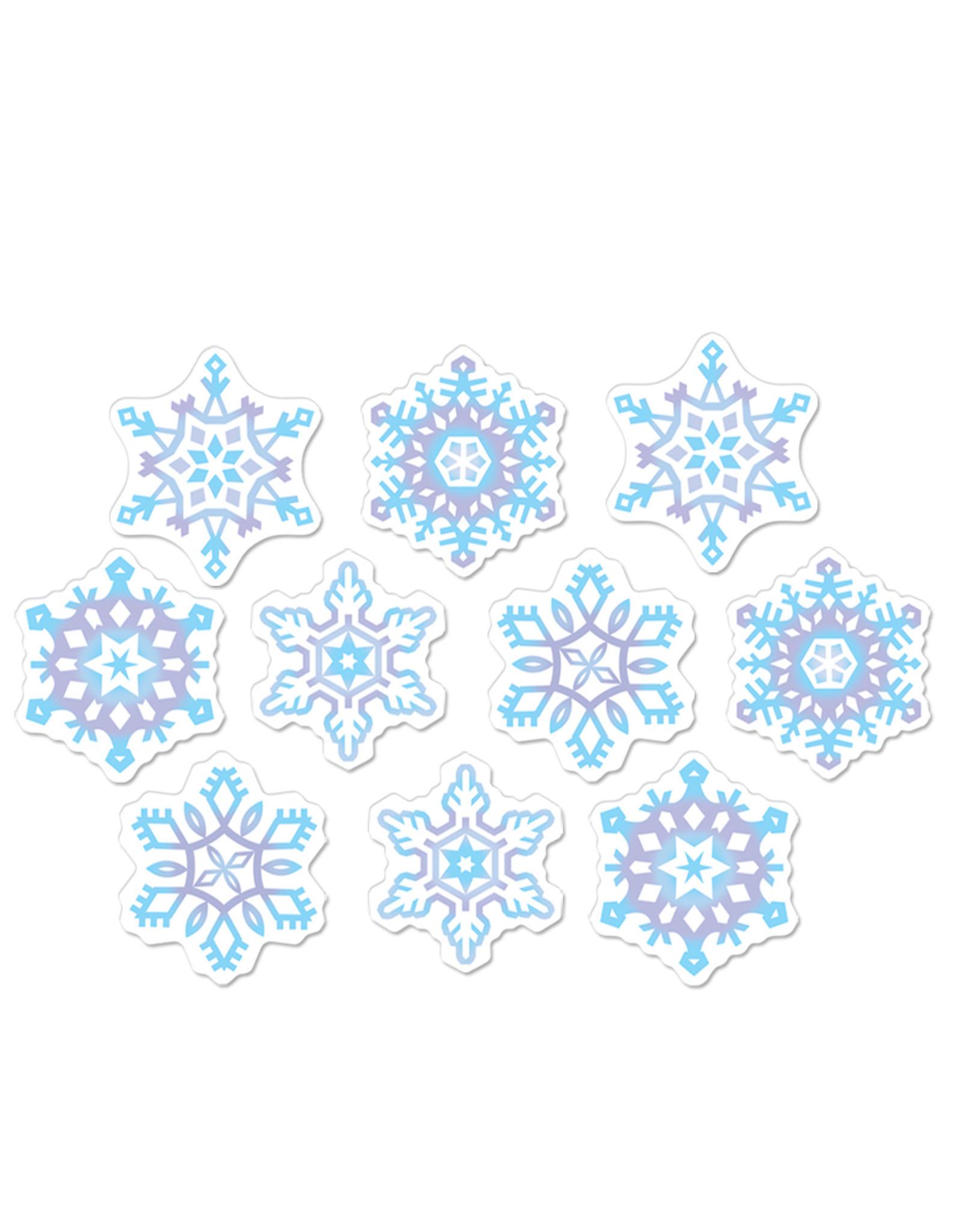Beistle Mini Snowflake Cutouts