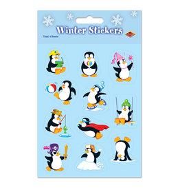 Beistle Penguin Stickers