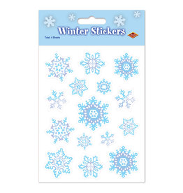 Beistle Snowflake Stickers