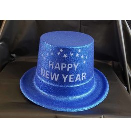everbright Happy New Year Glitter Top Hat