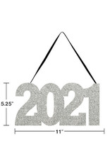 creative converting 2021 Hanging Glitter Sign