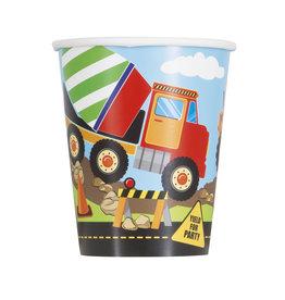 unique Construction Party 9oz Cup - 8ct.