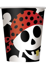 unique Pirate Fun 9oz Cup - 8ct.