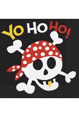 unique Pirate Fun Lunch Napkin - 16ct.