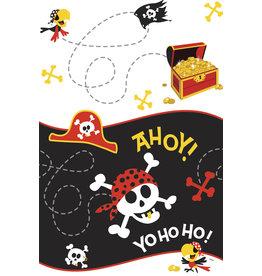 """unique Pirate Fun Plastic Tablecover (54"""" x 84"""")"""