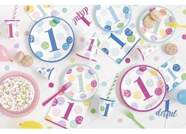 1st Birthday Pink Dots