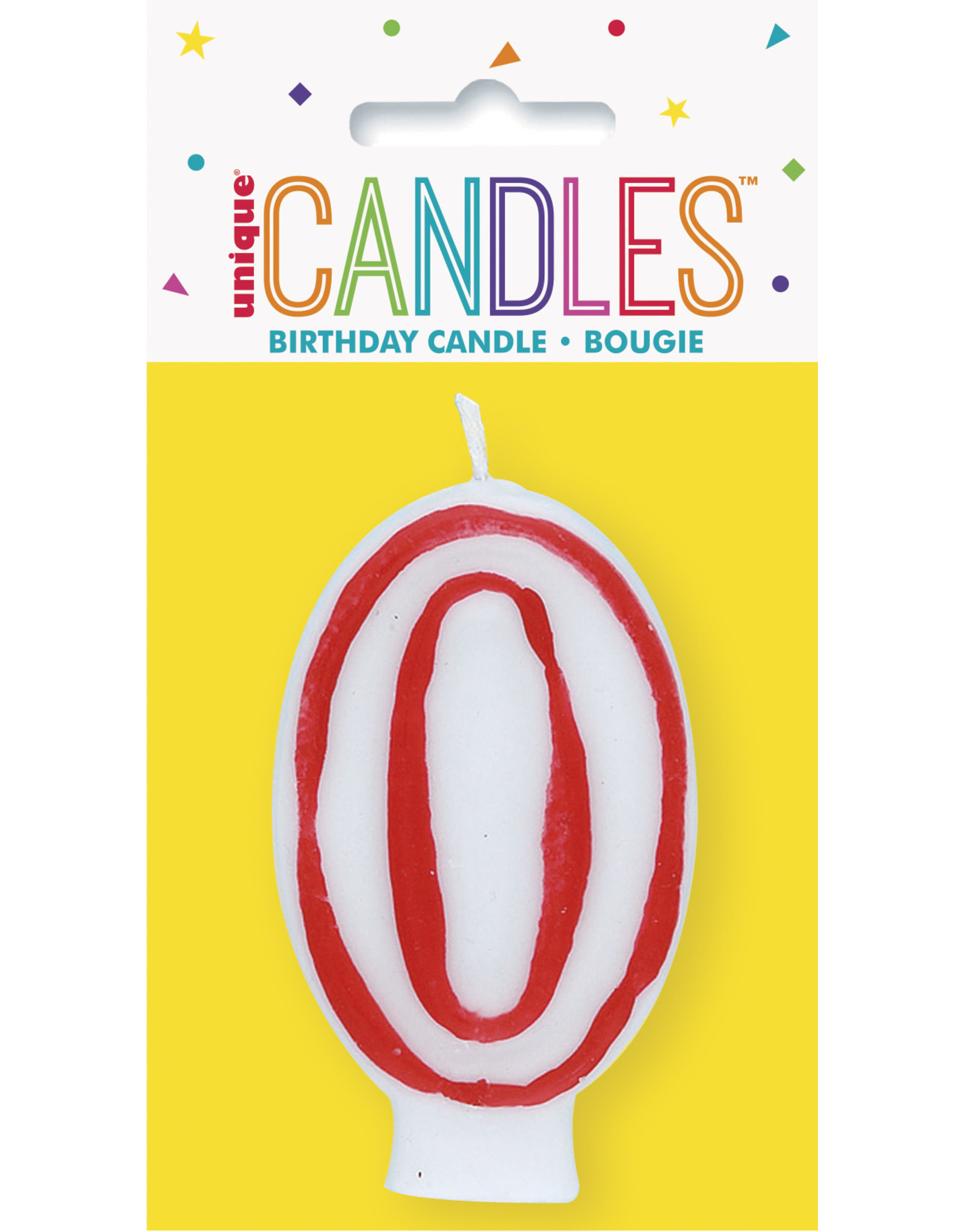 unique Birthday Number Candle #0