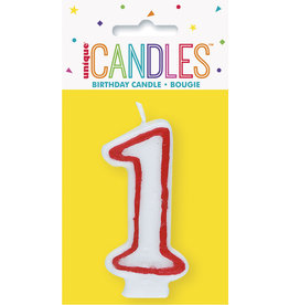 unique Birthday Number Candle #1