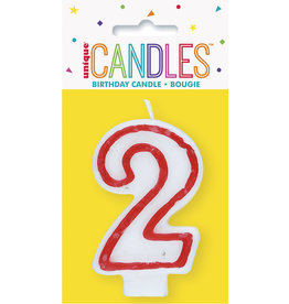 unique Birthday Number Candle #2