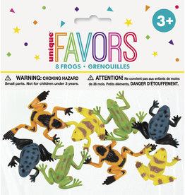 unique 8ct. Plastic Frog Favors