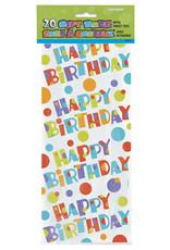 unique 20ct. BUBBLY BIRTHDAY CELLO BAGS