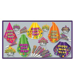 Beistle Color Splash 10 Person Party Kit