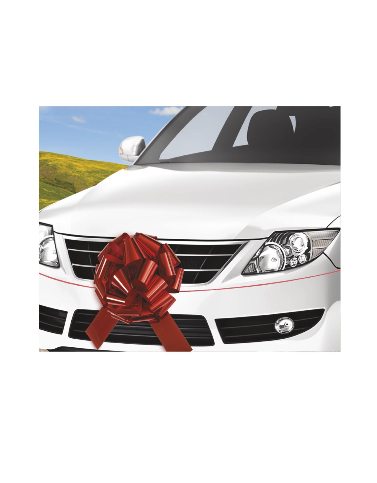 "unique Red 18"" Car Bow"