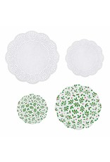 Amscan Christmas Doilies, Assorted Sizes, 40ct.