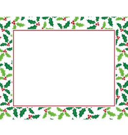 creative converting Holly Placemats  - 12ct.