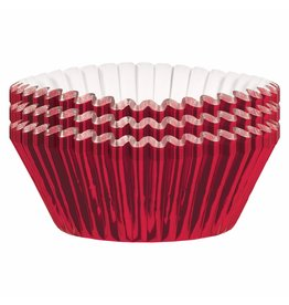 Amscan Red Foil Baking Cups  - 24ct.