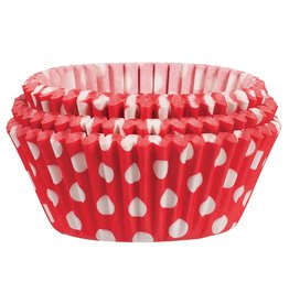 Amscan Red Dot Baking Cups - 75ct.