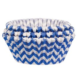 Amscan Blue Striped Baking Cups - 75ct.