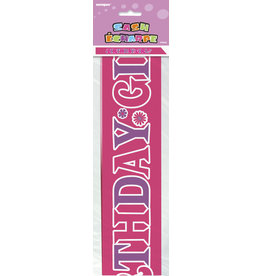 unique Birthday Girl Sash