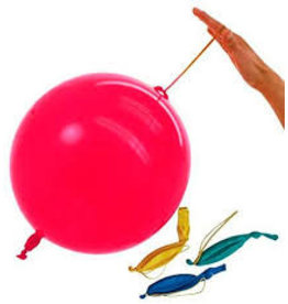 unique Punch Balloons - 2ct.