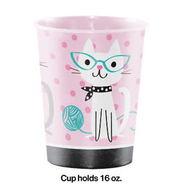 creative converting Purr-Fect Party 16oz Cup - 1ct.
