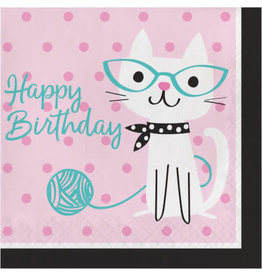Party Creations Purr-Fect Party Lunch Napkins - 16ct.
