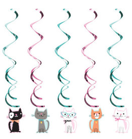 creative converting Purr-Fect Party Dizzy Danglers - 5ct.