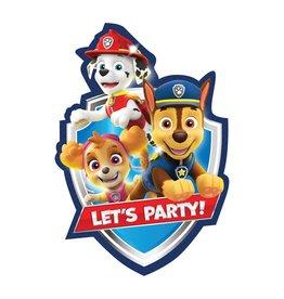 Amscan Paw Patrol Invites - 8ct.