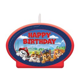 Amscan Paw Patrol Birthday Candle - 1ct.