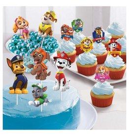 Amscan Paw Patrol Cupcake/Cake Toppers - 12ct.