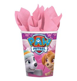 Amscan Girl Paw Patrol 9oz. Cups - 8ct.