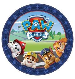 "Amscan Paw Patrol 9"" Plates - 8ct."